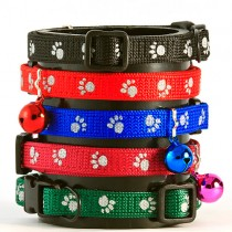 Reflective Paw Cat Collar